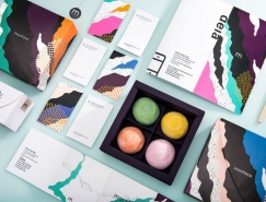 Mochiice冰淇淋品牌視覺設計