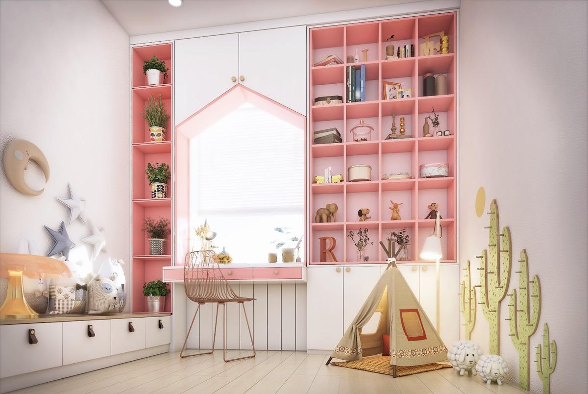 53个儿童房学习空间设计