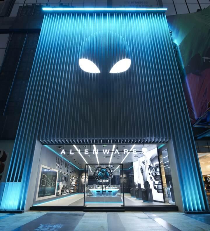 外星人ALIENWARE重庆旗舰店设计