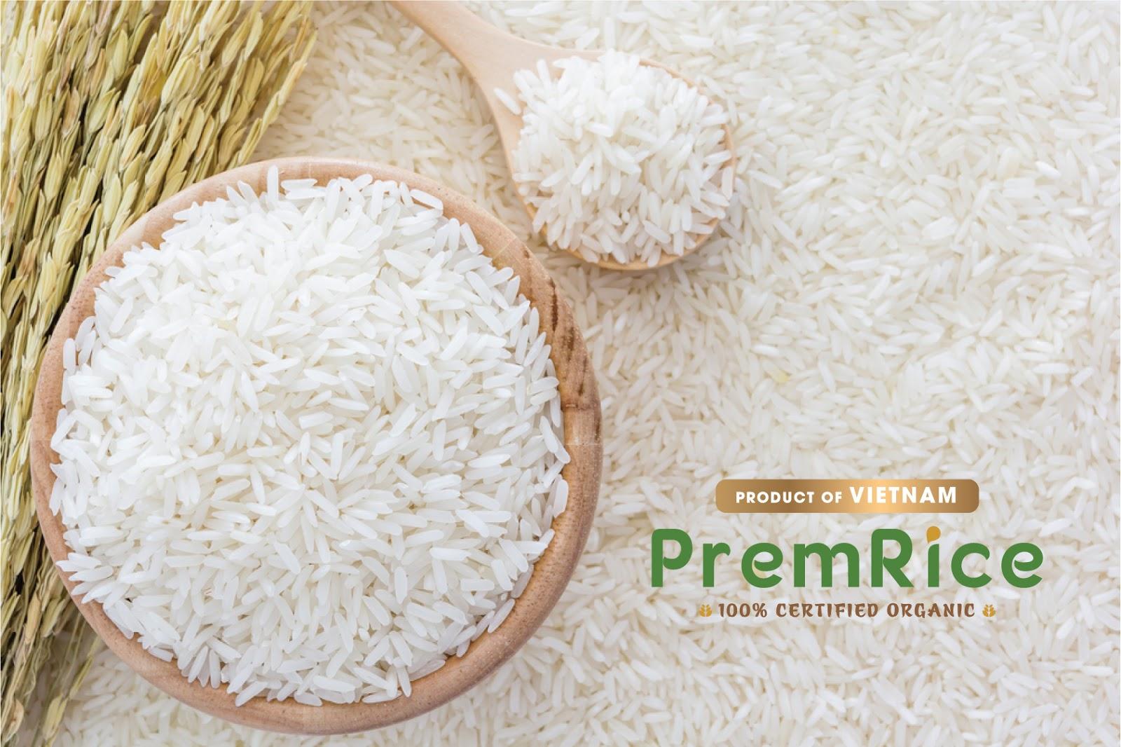 越南Premrice大米包装设计