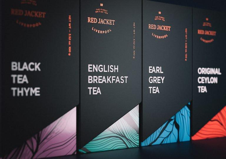 Red Jacket茶品牌包装设计