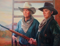 Felice House画笔下的西部女牛仔