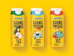 8款国外牛奶包装设计欣赏