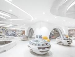 西安的白色神曲:钟书阁书店设计