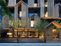 曼谷HACHI服务式公寓设计