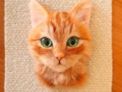 Wakuneco可爱迷人的3D猫咪肖像