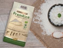 越南Premrice大米包裝設計