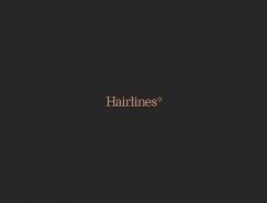 美发品牌Hairlines视觉形象设计