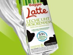 Baggio Latte牛奶包装设计
