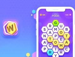Word Galaxy游戏UI界面正规棋牌游戏平台