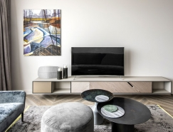 Vilnius 温馨时尚的现代公寓装修,体育投注