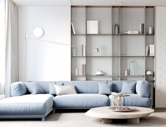 时尚小清新的现代住宅装修设计