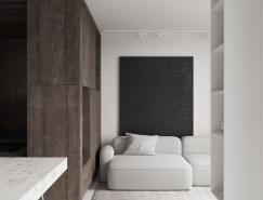 睡眠盒和玻璃隔斷:2套小戶型巧妙的空間分割