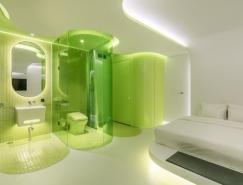 Lime Flavor時尚未來感的酒店套房設計