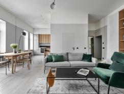 开放式空间的时尚小公寓设计