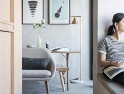 两居改造一居 香港33平米小公寓改造设计