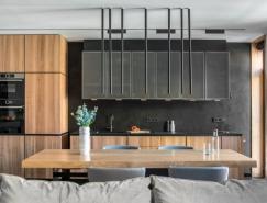 乌克兰两间公寓合并改造设计