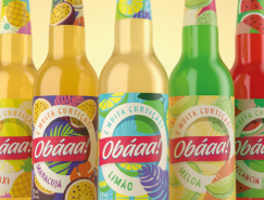 Obáaa!果汁包装设计