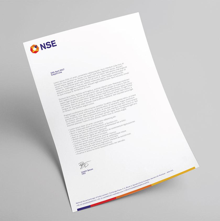 印度国家证券交易所(NSE)启用新LOGO