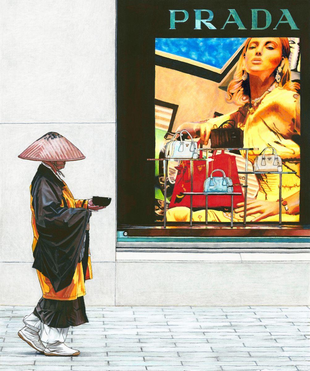 Erin Nicholls日本风情绘画作品