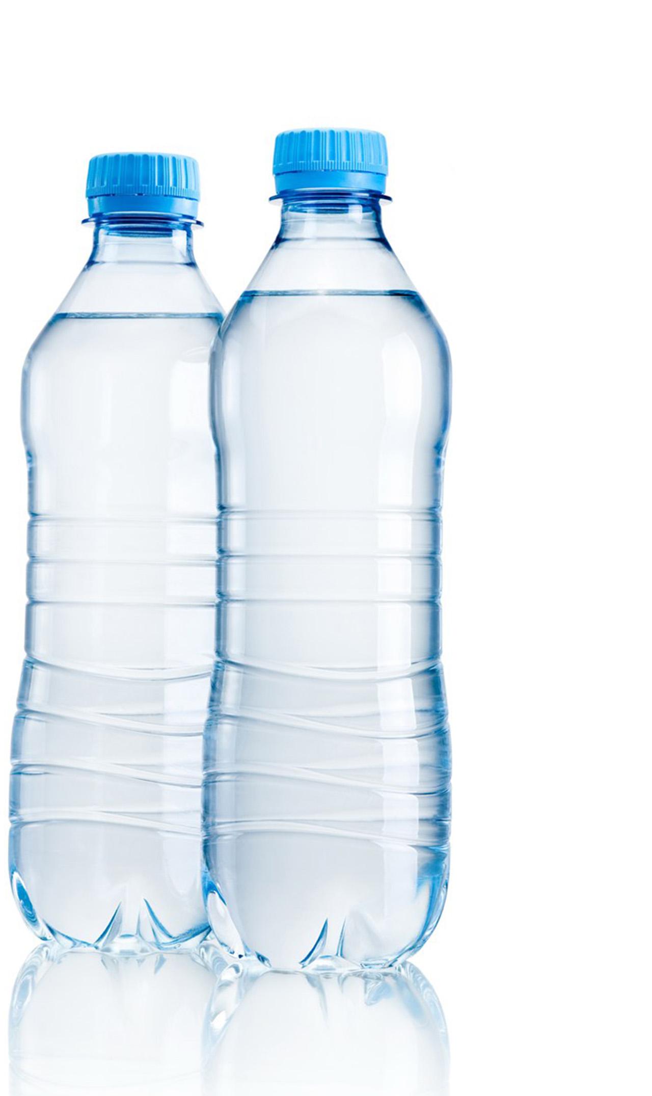 平面透视图_Photoshop精修透明的矿泉水瓶图 - 设计之家
