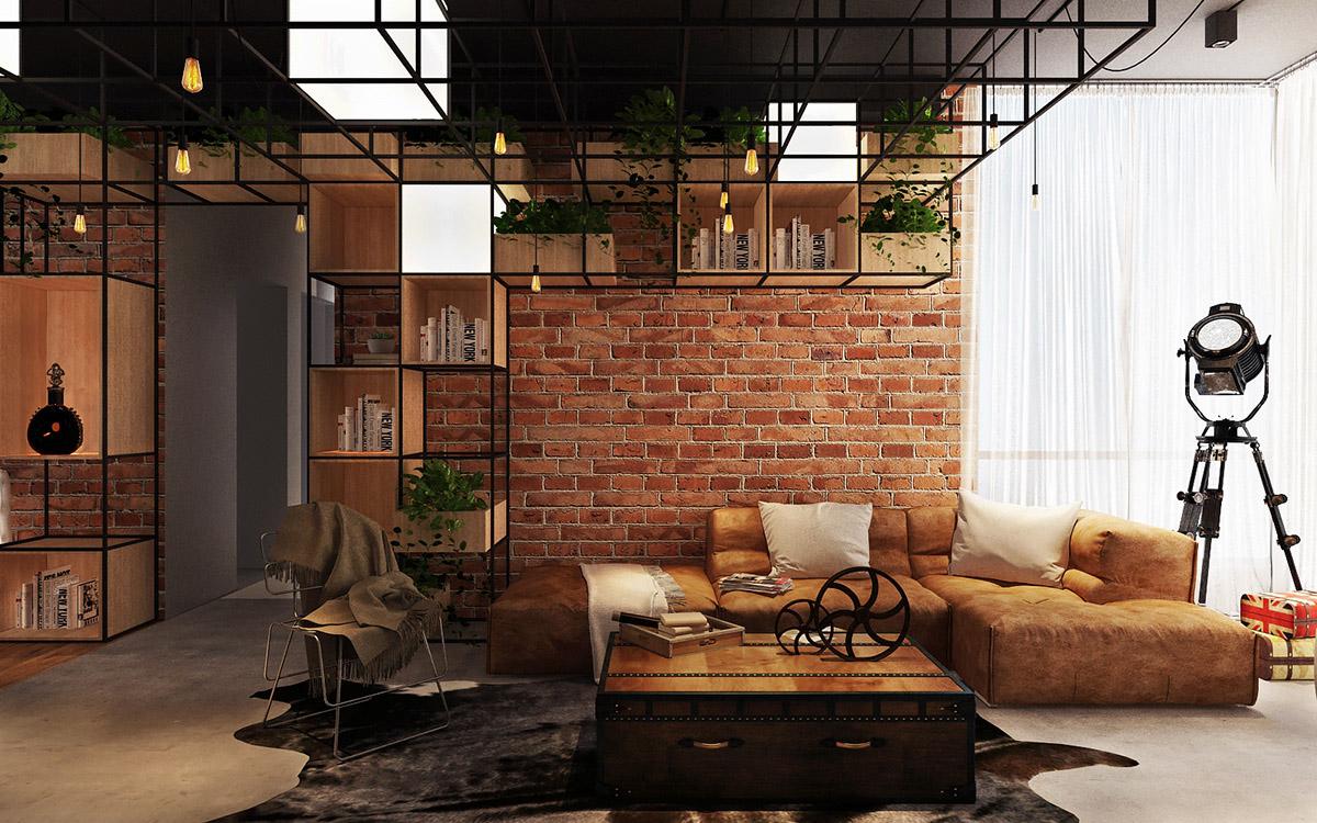 3个工业风格Loft装修设计