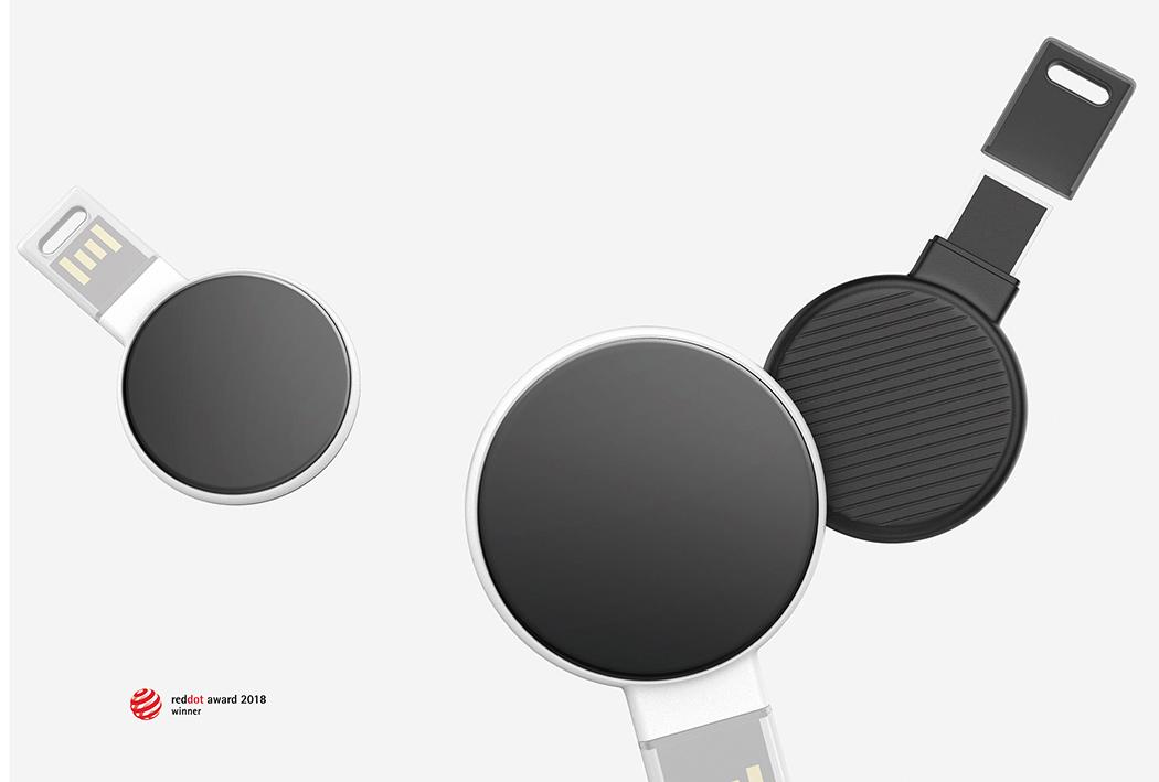 带屏显能指纹解锁的One-Step智能U盘