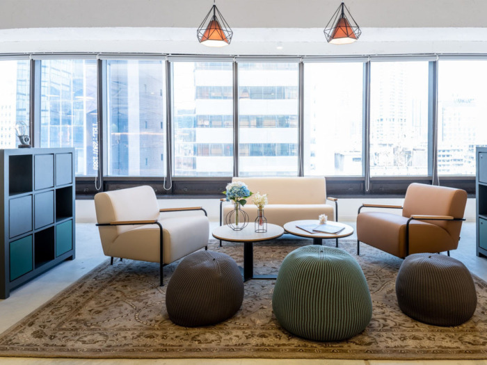 香港Regus包豪斯风格联合办公空间设计