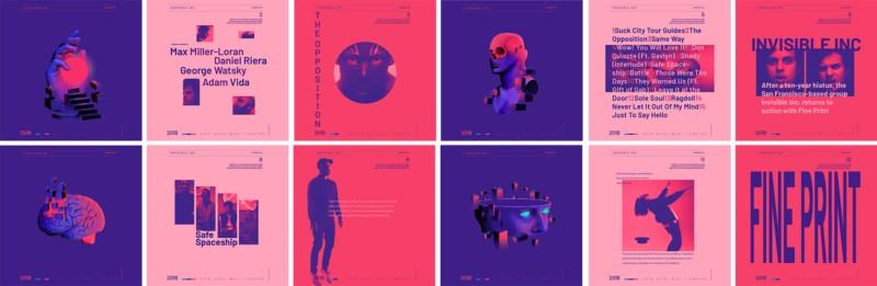 El Diablo音乐专辑封面插画设计