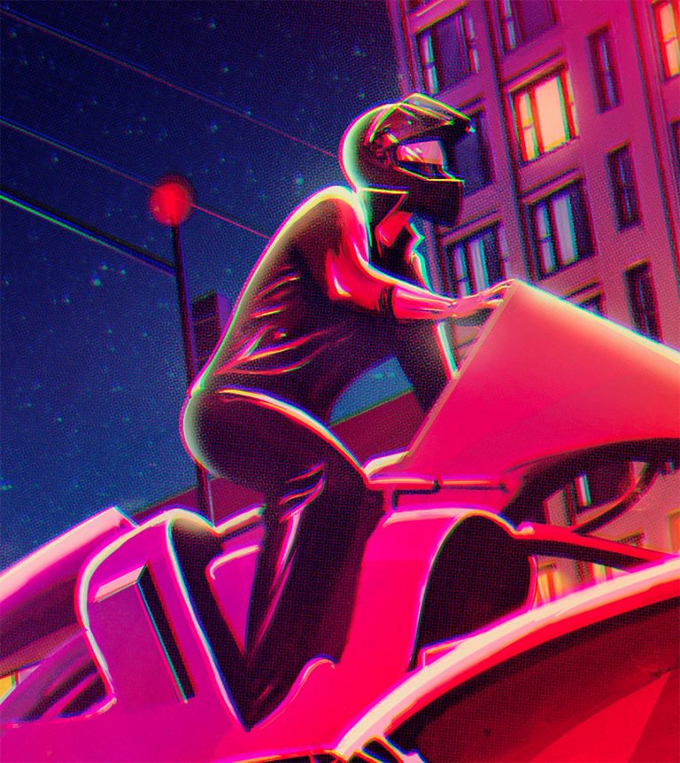 El Diablo未来感十足的插画作品欣赏