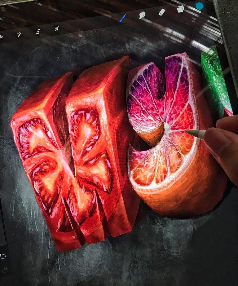 Biksence Nguyen视觉和纹理超赞的字体澳门金沙真人