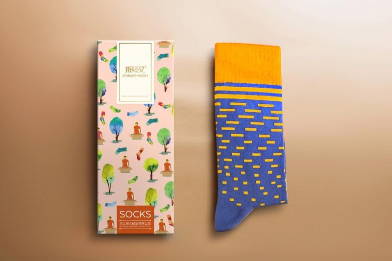 振汉袜子包装设计