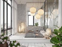 51个温馨时尚的卧室设计欣赏