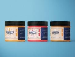 Sorbetto水果冰糕包装设计