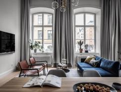 高高的天花板和拱形窗户:具有传统感的精致