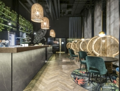 丛林主题风格的Manami餐厅设计