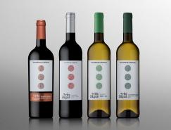 Três Bagos葡萄酒包裝設計