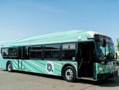 底特律交通部(DDOT)品牌视觉设计