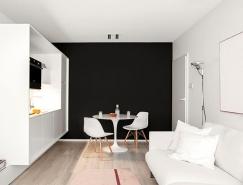 一居室白色小公寓装修,体育投注