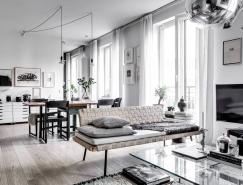 4个白色北欧风格住宅装修设计