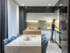 希腊简约精致的115平米公寓设计