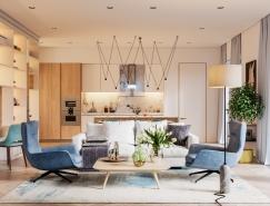 精致的美学和细节的追求:美丽温馨的家居装修