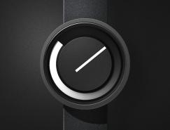 非指針 非數字:Horizon極簡主義手表設計