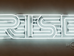 健康俱乐部Rise品牌形象设计