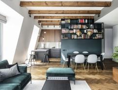 融合经典和现代风格的阁楼装修设计