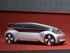 展示前瞻澳门金沙网址的沃尔沃自动驾驶概念车