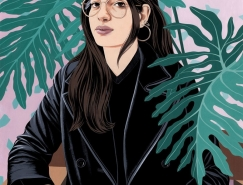Bijou Karman女性人物插画澳门金沙网址