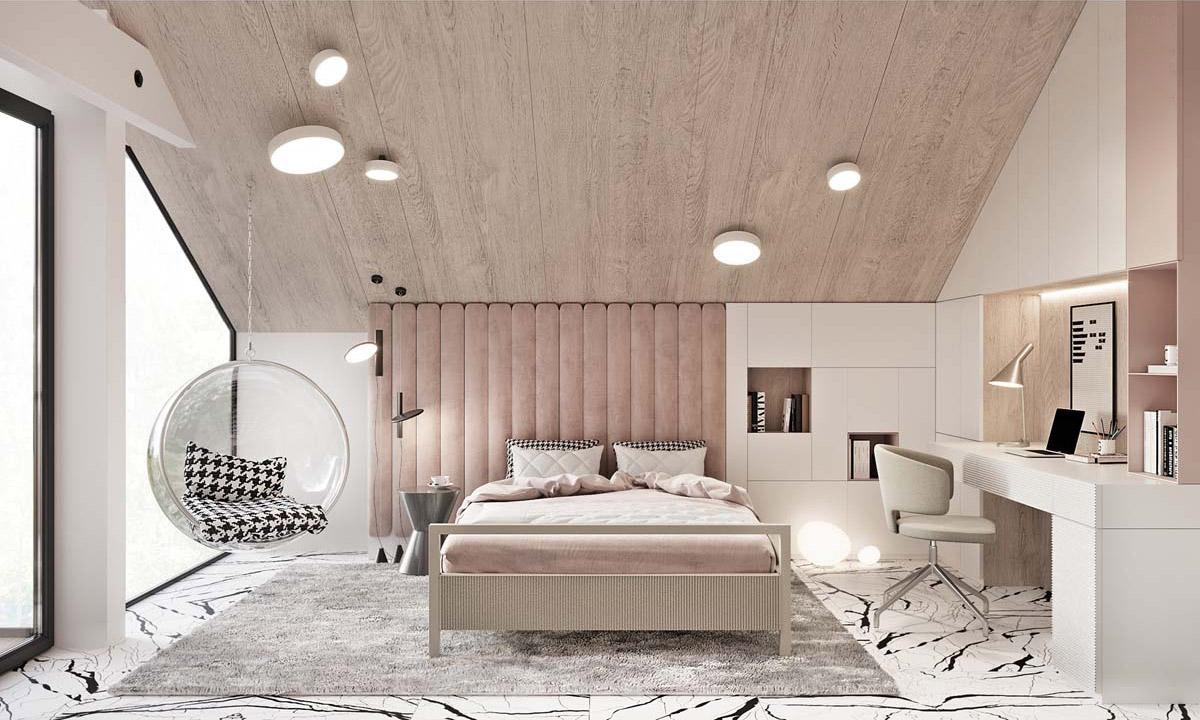 51个豪华装修的卧室设计