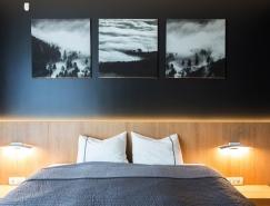 51个酷炫个性的黑色卧室设计