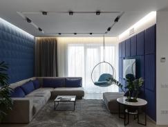 乌克兰现代时尚风格的住宅装修设计